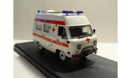 УАЗ-39623 АСМП класса В Скорая помощь, масштабная модель, scale43