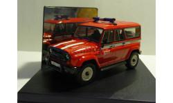 УАЗ 3159 'Барс' Пожарная охрана., масштабная модель, Конверсии мастеров-одиночек, scale43