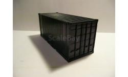 Контейнер 20 футов неокрашенный, запчасти для масштабных моделей, AVD Models, scale43