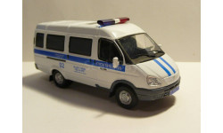 ГАЗ 2705 Полиция ДПС Москва, масштабная модель, scale43