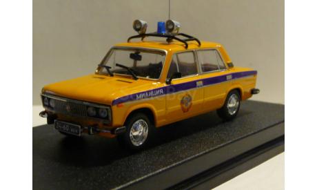 ВАЗ 2106 Милиция ГАИ СССР, масштабная модель, scale43