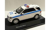 Mercedes-Benz ML Полиция ДПС ЦСН БДД Москва, масштабная модель, scale43