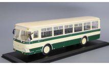 Автобус ЛиАЗ 677 бежево-зеленый Classicbus, масштабная модель, scale43
