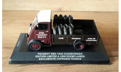 Peugeot DMA Charbonnier, масштабная модель, IXO Cofradis, 1:43, 1/43