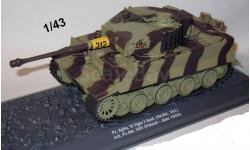 Pz. Kpfw. VI TIGER I Ausf.E (Sd.Kfz.181) 1:43 Altaya
