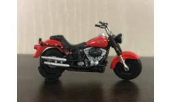 HARLEY-DAVIDSON Fat Boy Lo, масштабная модель мотоцикла, UCC, 1:43, 1/43