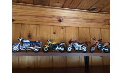 Легендарные Мотоциклы, журнальная серия масштабных моделей, Welly, scale18