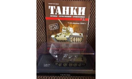 Т-34-76, журнальная серия масштабных моделей, DeAgostini (военная серия), scale43