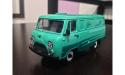 УАЗ 452 (3741) в советской коробке, масштабная модель, Тантал («Микроавтобусы УАЗ/Буханки»), 1:43, 1/43