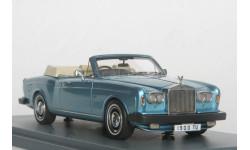 Rolls-Royce Corniche convertible.