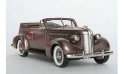 Pontiac Deluxe Six convertible sedan 1937. P.C.02. Brooklin.