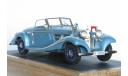 Mercedes-Benz 540K Special Roadster 'Blue Goose' 1937., масштабная модель, 1:43, 1/43, EMC Пивторак