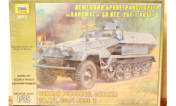 Немецкий бронетранспортер 'Ханомаг' SD.KFZ. 251/1 AUSF. B 1/35 Звезда