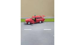 Москвич ИЖ 1500 Комби пожарный, масштабная модель, Агат/Моссар/Тантал, 1:43, 1/43