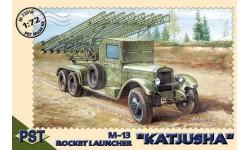 М-13 (ЗиС - 6) -- Катюша -- = PST = 1-72, сборная модель автомобиля, 1:72, 1/72