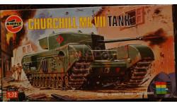 -- Shurchill -- Mk VII = Airfix = 1-72, сборная модель автомобиля, 1:72, 1/72