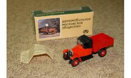 АМО Ф - 15 - сделано в СССР с коробкой Скидка 17 % от цены при покупке на аукционе, масштабная модель, 1:43, 1/43