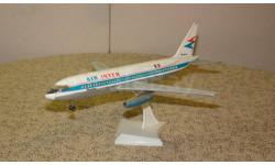 Пассажирский самолет Mercure Скидка 13 % от цены на аукционе, сборные модели авиации, Plasticart, 1:100, 1/100