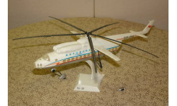 Пассажирский вертолёт Ми - 6 --- Без подставки Скидка 13 % от цены на аукционе, сборные модели авиации, Plasticart, 1:100, 1/100