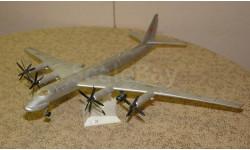 Дальний бомбардировщик Ту - 20  Скидка 13 % от цены на аукционе, сборные модели авиации, Plasticart, 1:100, 1/100