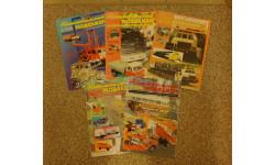Автомобильный моделизм за 2000 г. (6 номеров), литература по моделизму