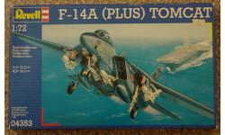 F - 14 A Tomcat (Plus)  = Revell =  1-72  Скидка 13 %