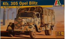 Kfz.305 Opel Blitz = Italeri = 1-72, сборная модель автомобиля, 1:72, 1/72