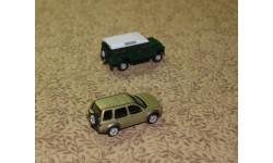 Land Rover Defender + Land Rover Freelander = Cararama = 1-72, масштабная модель, 1:72, 1/72