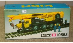 -- Liebherr --  автокран на ж-д ходу  = Kibri =  1-87  Скидка 8 %