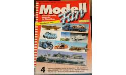 Model Fan --- april 2002, литература по моделизму