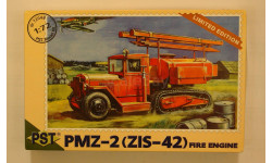 ПМЗ - 2 (ЗиС - 42) = PST = 1-72 С рубля!!! Скидка 10 % от цены на аукционе, сборная модель автомобиля, 1:72, 1/72