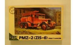 ПМЗ - 2 (ЗиС - 6) = PST = 1-72 С рубля!!! Скидка 10 % от цены на аукционе, сборная модель автомобиля, 1:72, 1/72