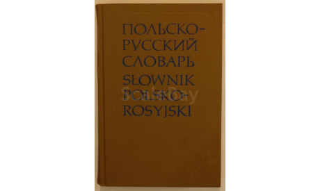 Польско - русский словарь, литература по моделизму