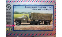 Studebaker US6 моd. U6 = PST = Без коробки!!! 1-72, сборная модель автомобиля, scale72