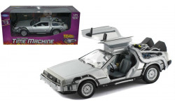 1:24 DeLorean Time Machine Back To The Future I, масштабная модель, Welly, scale24