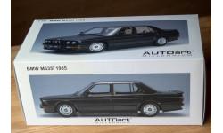 1:18 Autoart BMW M535i 1985 black, масштабная модель, scale18