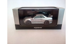 Nissan Skyline GT-R R34 Z-tune, масштабная модель, Kyosho, 1:43, 1/43