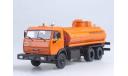 Автомобиль на службе №69, КАМАЗ-53215 Перевозка Нефтепродуктов, журнальная серия Автомобиль на службе (DeAgostini), scale43