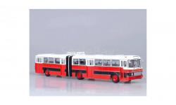 Икарус 180 красно-черный (Болгария) СОВА, масштабная модель, 1:43, 1/43, Советский Автобус, Ikarus