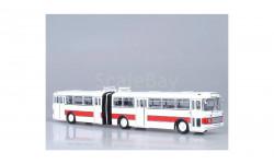 Икарус 180 бело-красный СОВА, масштабная модель, 1:43, 1/43, Советский Автобус, Ikarus