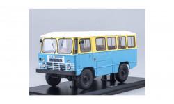 Армейский автобус АПП 66, жёлто-синий SSM