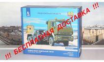 Сборная модель КАМАЗ-65225 седельный тягач AVD Models KIT, масштабная модель, scale43