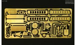 Набор для доработки кабины и капота моделей 375 и 377   фототравление