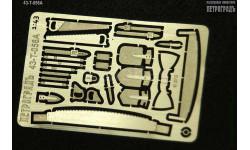 Набор инструменты №2 (шанцевые)   фототравление, фототравление, декали, краски, материалы, 1:43, 1/43, Петроградъ и S&B