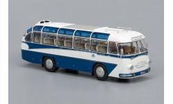 ЛАЗ 697Е Турист 'эмблема Интурист' (1961-1963), бело-синий   ClassicBus