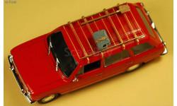 Модель советского трехсекционного   фототравление