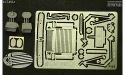 Расширенный набор для моделей Горький-52/53 с овальными зеркалами   фототравление, фототравление, декали, краски, материалы, 1:43, 1/43, Петроградъ и S&B, Москвич