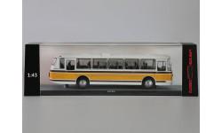 ЛАЗ  699Р бело-жёлтый  ClassicBus, масштабная модель, 1:43, 1/43