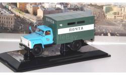 Горький ГЗСА-37112 'Почта', голубой / зеленый   DiP, масштабная модель, 1:43, 1/43, DiP Models, ГАЗ