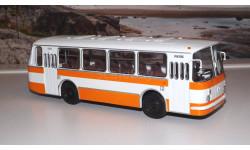 ЛАЗ 695Н бело-оранжевый ( без надписей !!! ) СОВА